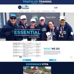 triathlon training coaching website